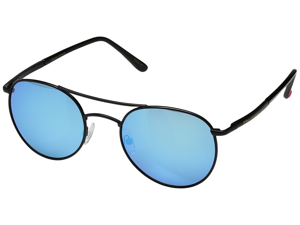Betsey Johnson - BJ485106 (Black/Blue) Fashion Sunglasses