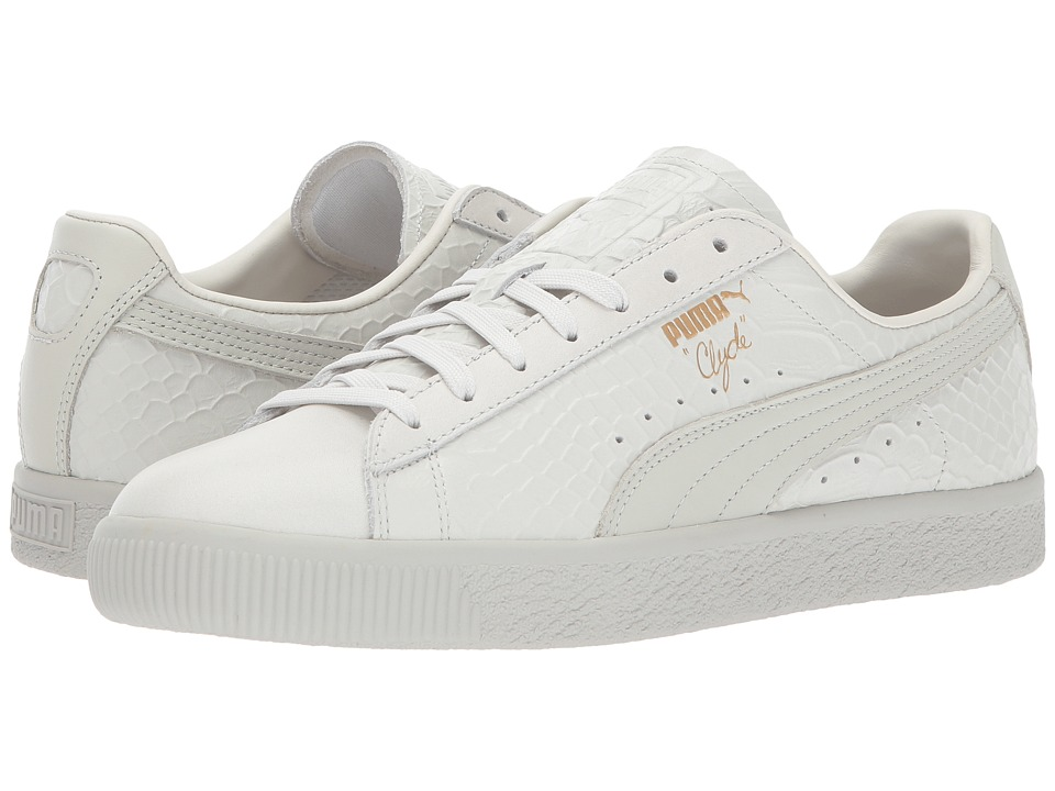 PUMA - Clyde Dressed (Whisper White) Men's Shoes