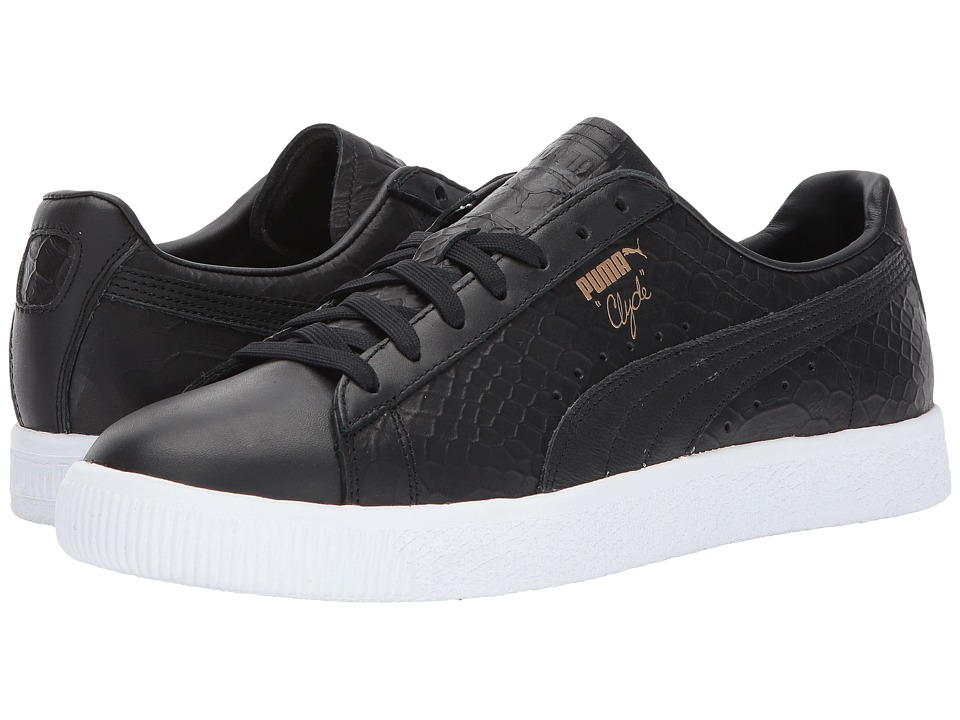 PUMA - Clyde Dressed (PUMA Black) Men's Shoes