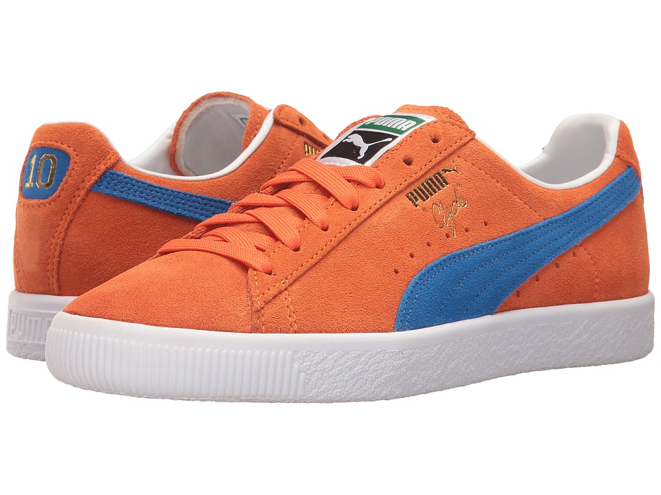 PUMA Clyde NYC (Vibrant Orange/Puma Royal) Men