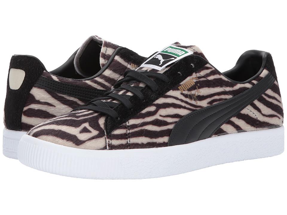 PUMA - Clyde Suits (Oatmeal/Puma Black/Puma White) Men's Shoes