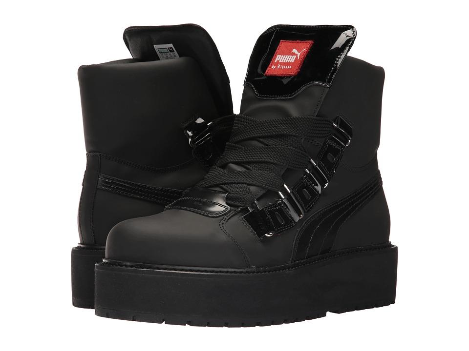 PUMA - SB Eyelet Rihanna (Puma Black/Puma Black/Puma Black) Men's Shoes