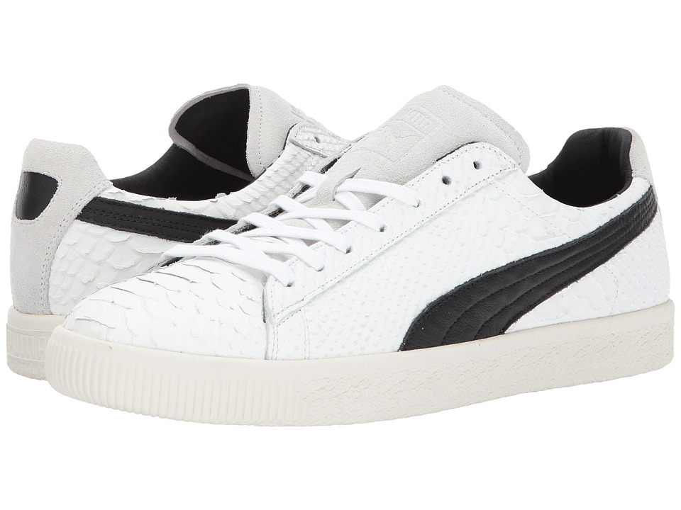 PUMA - Clyde MII (Whisper White/Puma Black/Star White) Men's Shoes