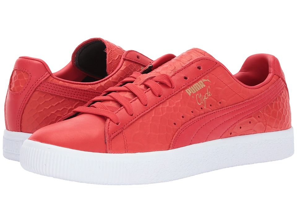 PUMA - Clyde Dressed (High Risk Red) Men's Shoes