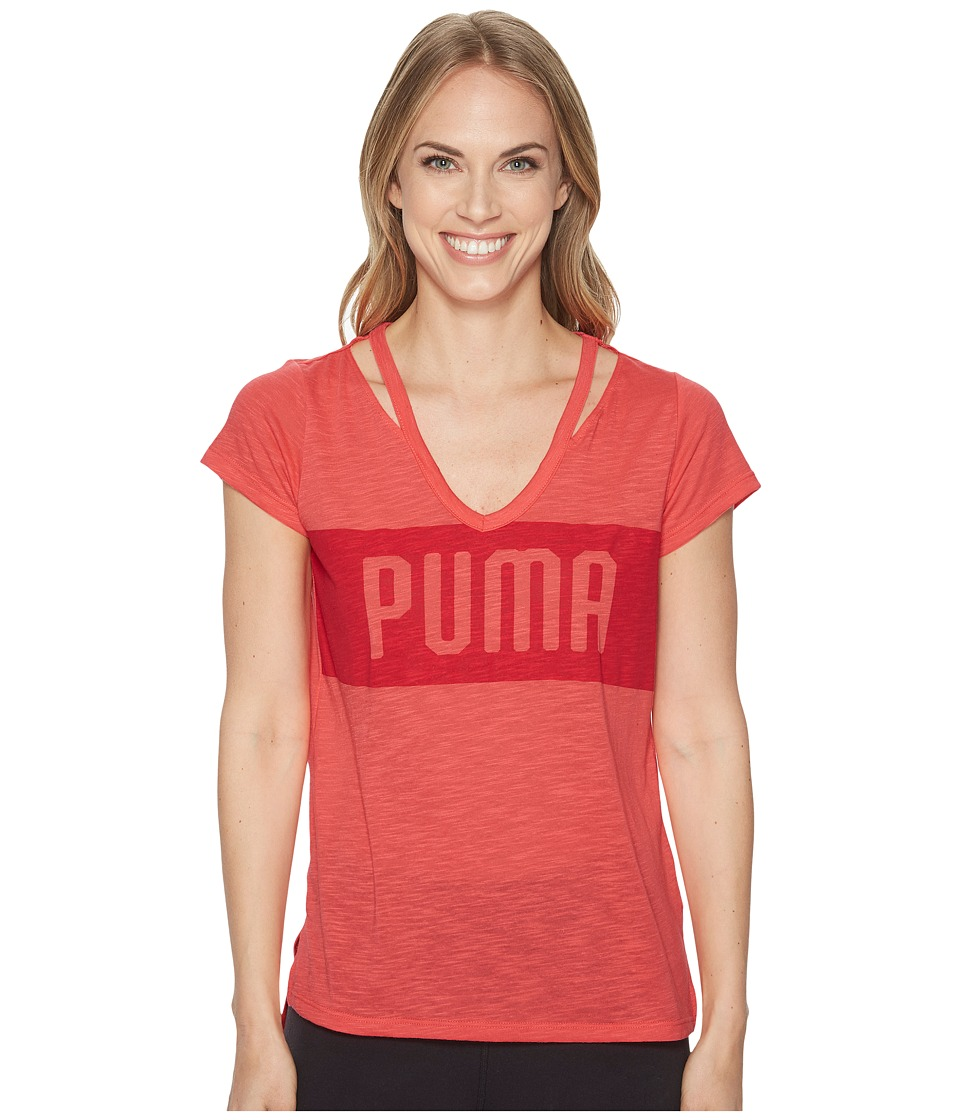 PUMA Spark Tee (Paradise Pink) Women