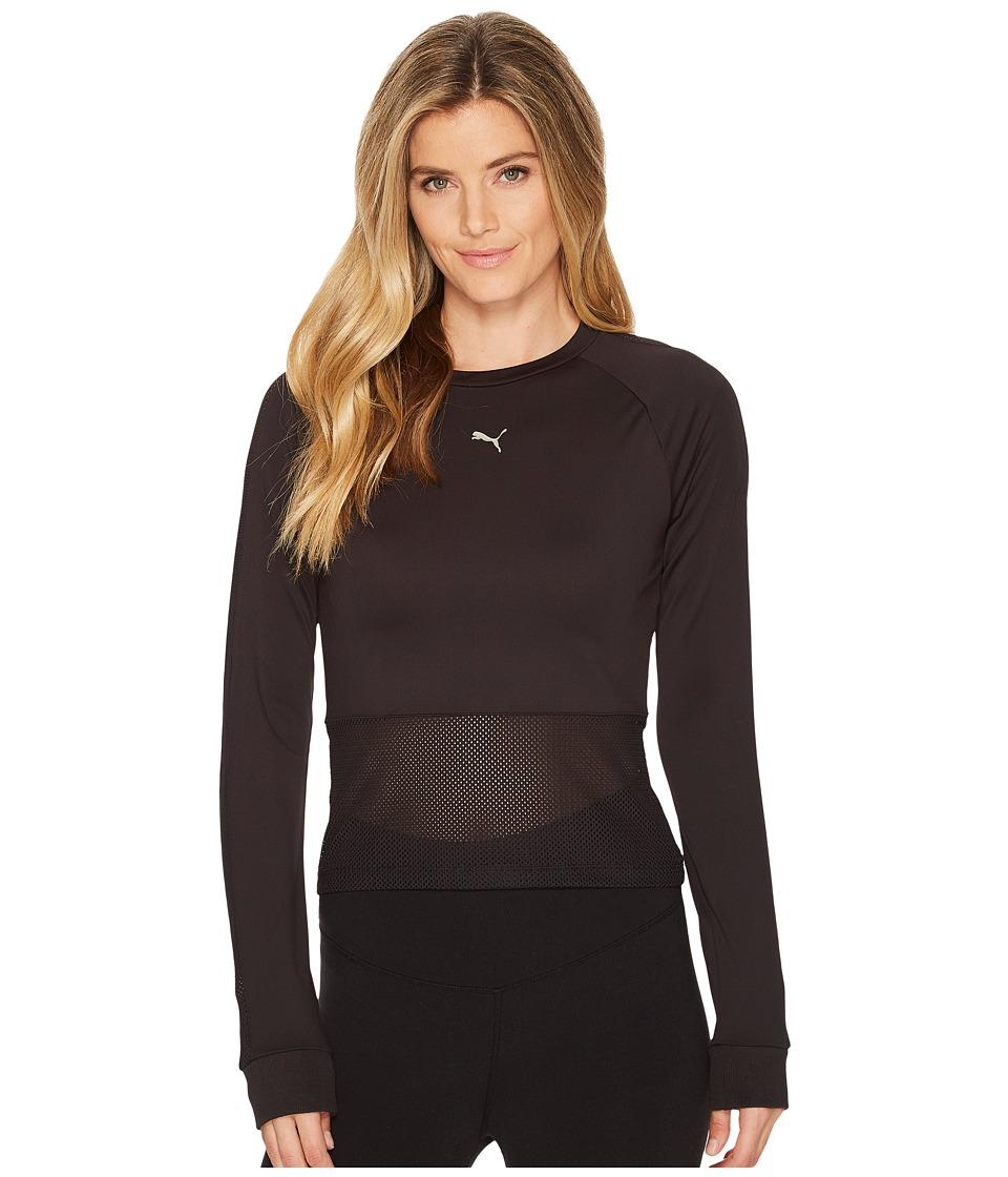 PUMA En Pointe Tight Long Sleeve (PUMA Black) Women