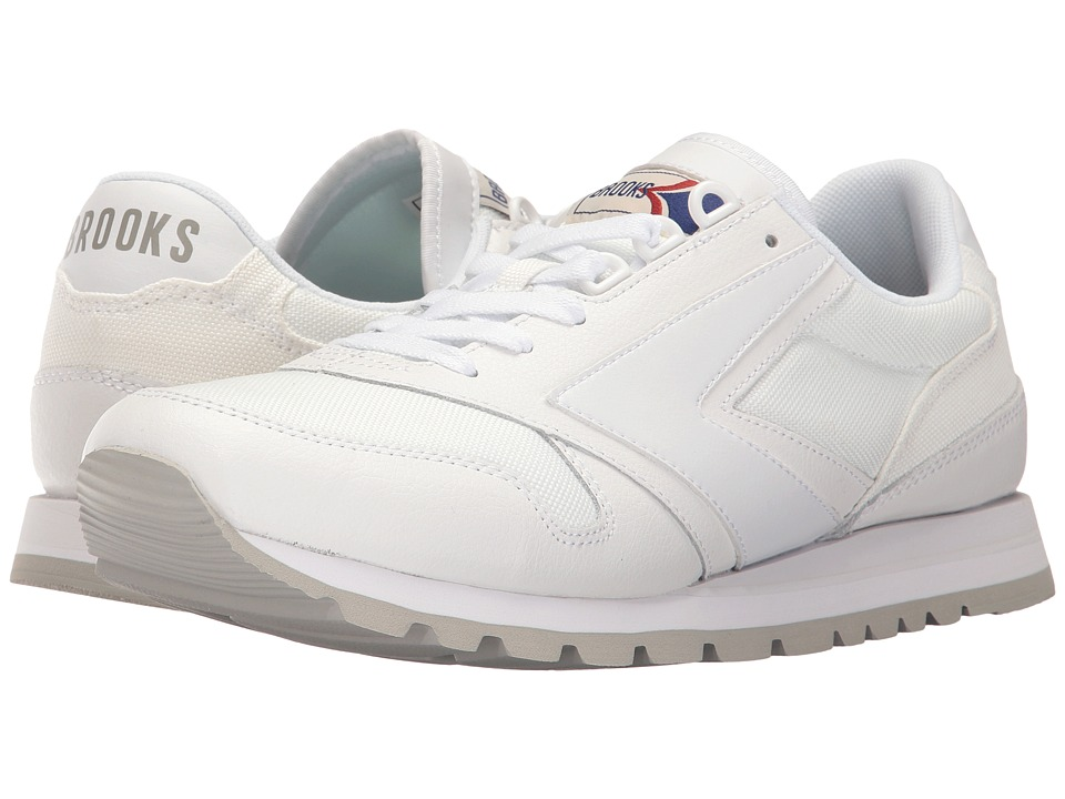 Brooks Heritage - Chariot (White/White) Men's Shoes