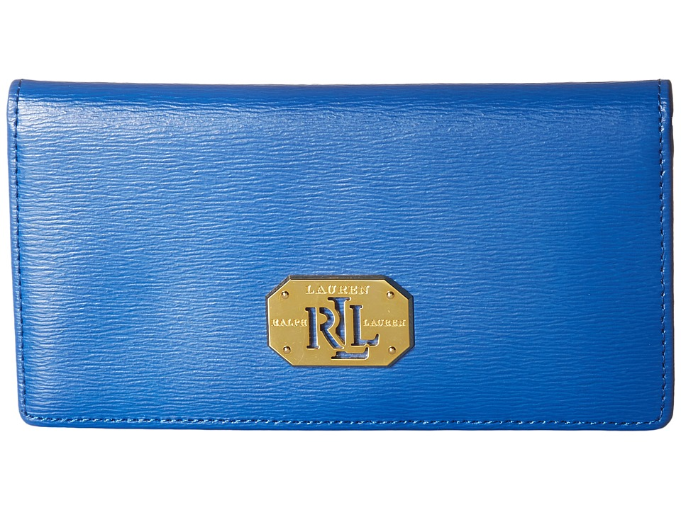 LAUREN Ralph Lauren - Newbury Slim Wallet Medium (Snorkel Blue) Wallet
