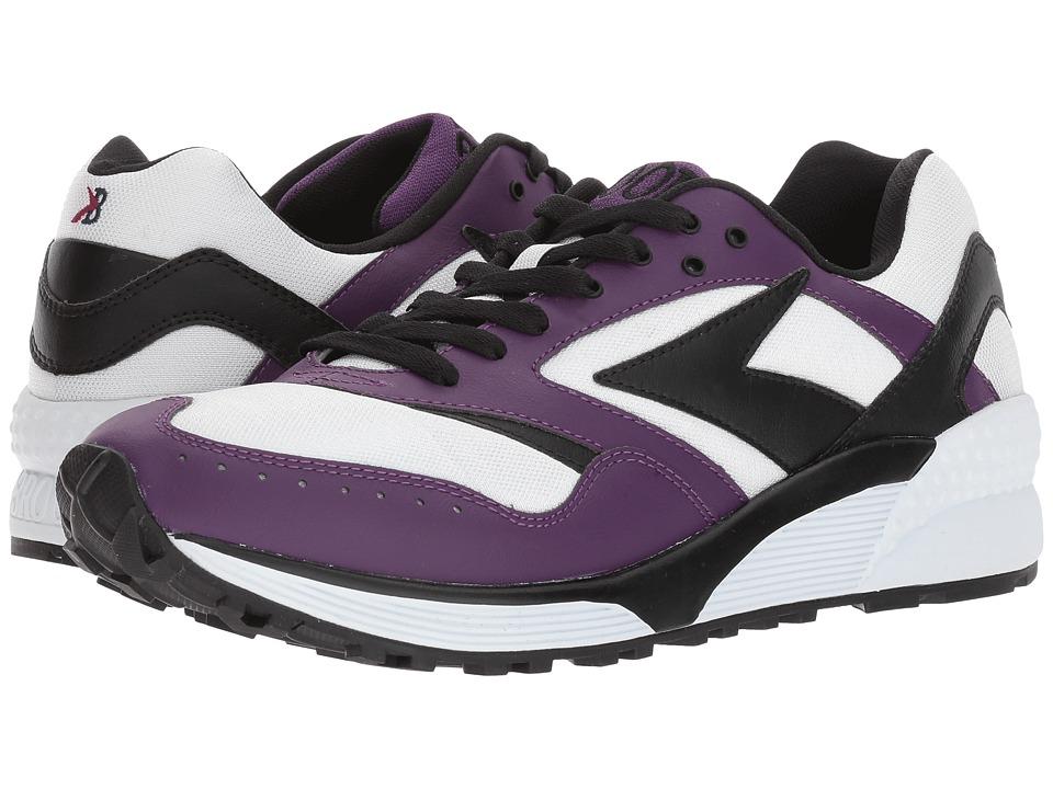 Brooks Heritage - Mojo (Majesty/Black/White) Men's Shoes