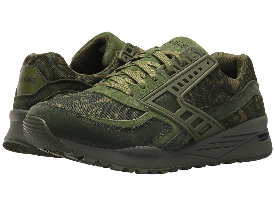 Brooks Heritage - Regent (Calliste Green/Pesto/Rifle Green) Men's Shoes