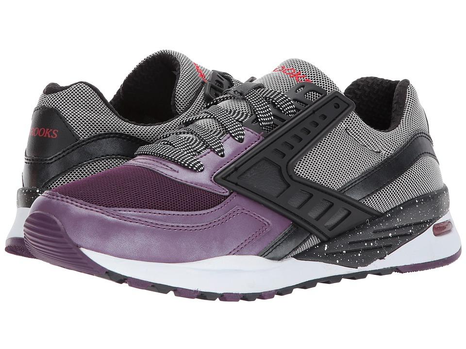 Brooks Heritage - Regent (Moonless Night/Black Metallic/Shadow Purple) Men's Shoes