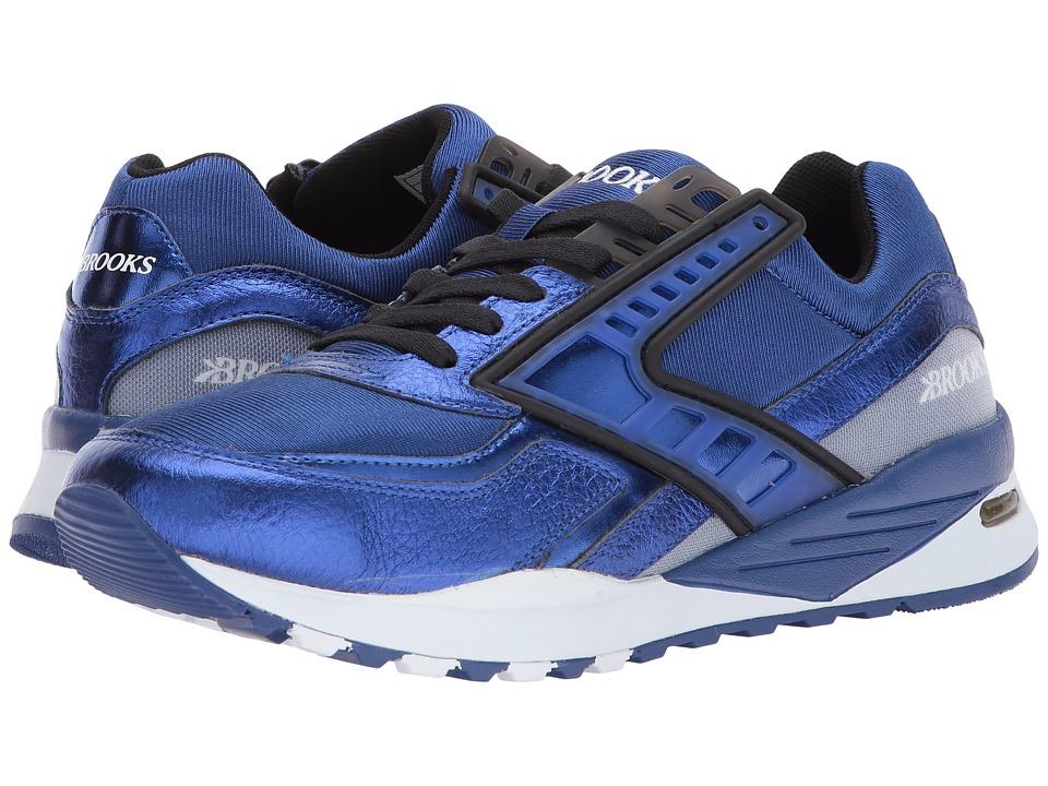 Brooks Heritage - Regent (Sodalite Blue/Black) Men's Shoes