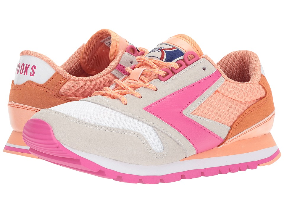 Brooks Heritage - Chariot (Peach Nectar/Coral Reef/Fuchsia Purple) Women's Shoes