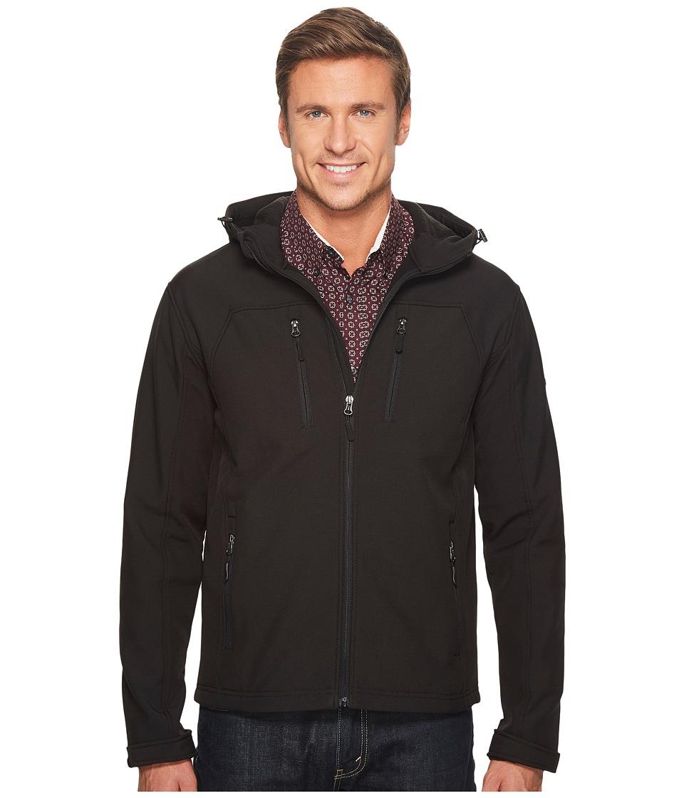 English Laundry Hooded Softshell Jacket (Black) Men