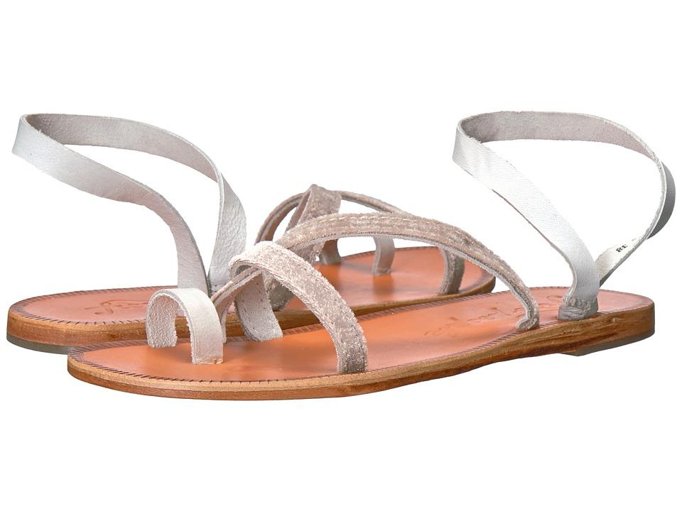 Free People - Isle of Capri Sandal (White) Women's Sandals