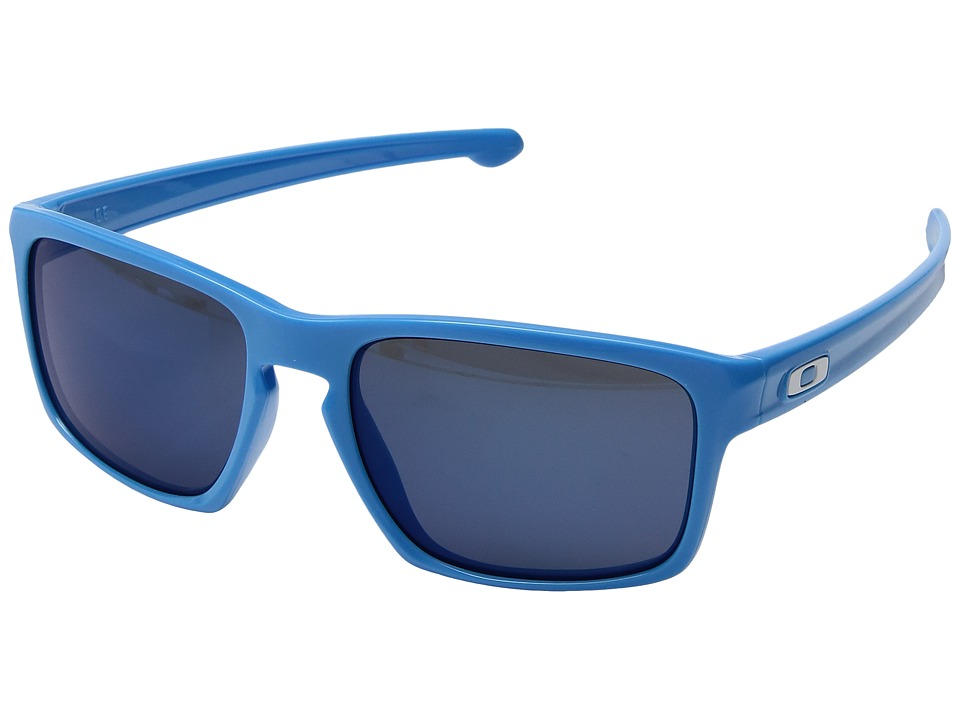 Oakley - Sliver (Polished Sky Blue/Ice Iridium) Sport Sunglasses