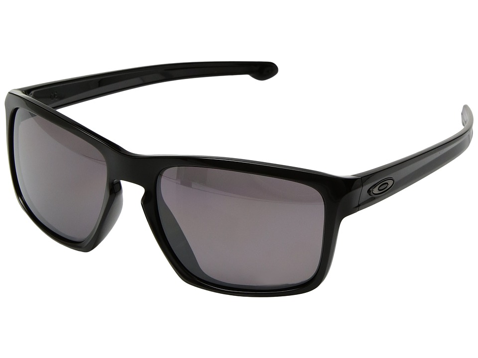 Oakley - (A) Sliver (Polished Black/Prizm Daily Polarized) Sport Sunglasses