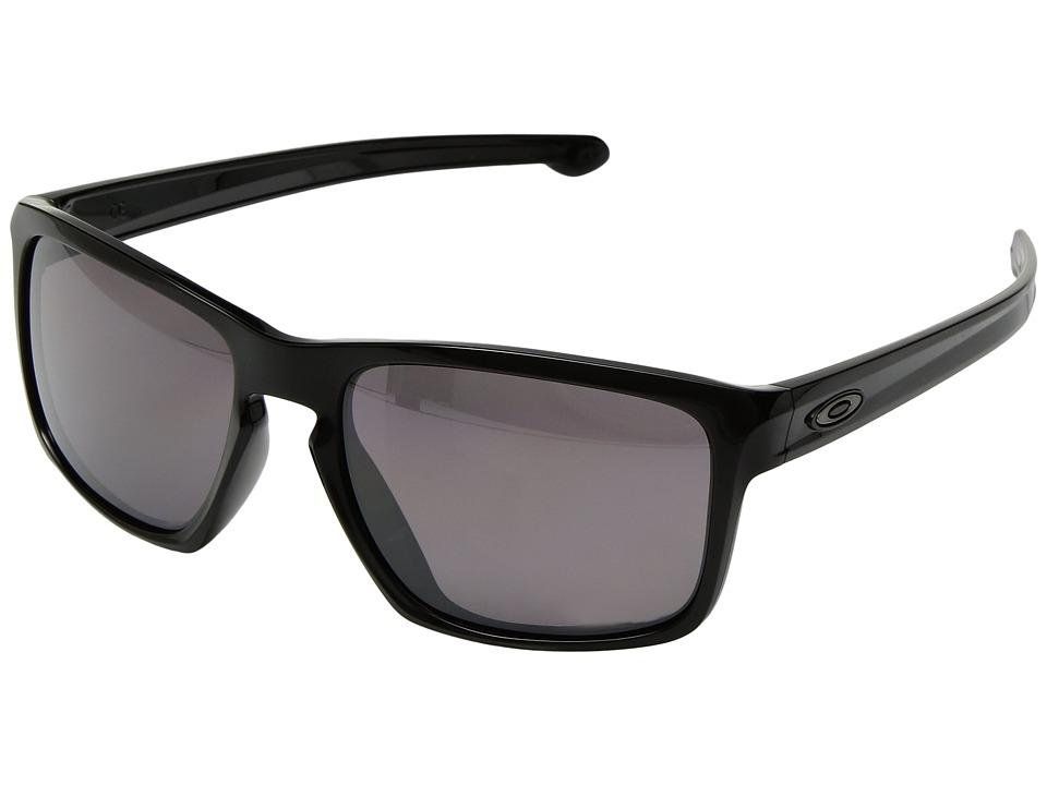 Oakley - (A) Sliver (Polished Black/Prizm Daily Polarized) Sport Sunglasses