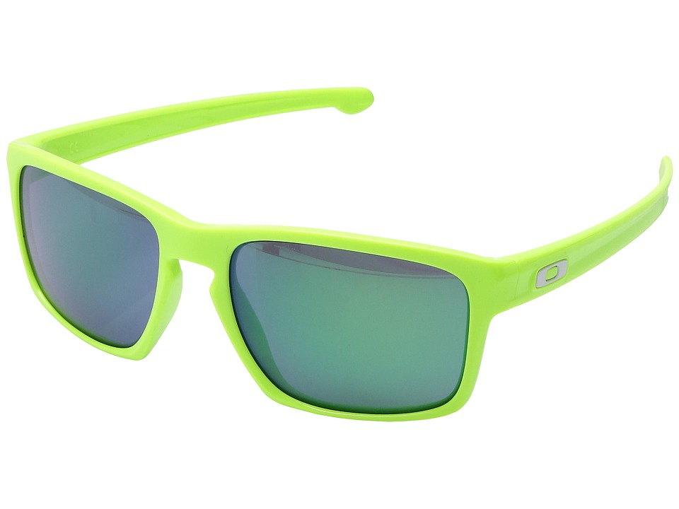 Oakley - Sliver (Polished Retina Burn/Jade Iridium) Sport Sunglasses