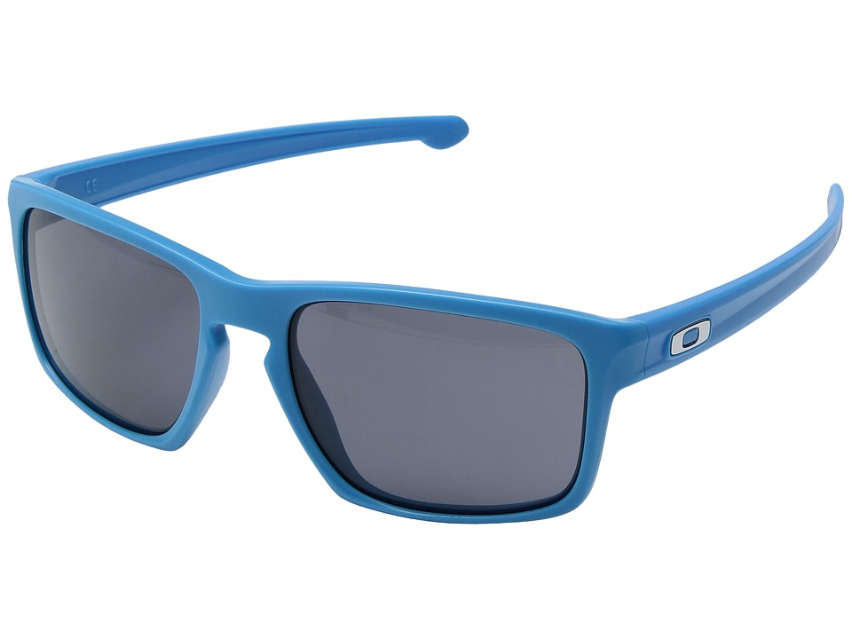 Oakley Sliver (Matte Sky Blue/Grey) Sport Sunglasses