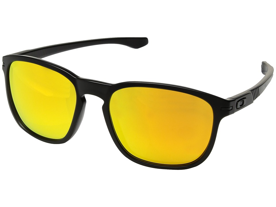 Oakley - Enduro (Matte Black Ink/Fire Iridium) Fashion Sunglasses