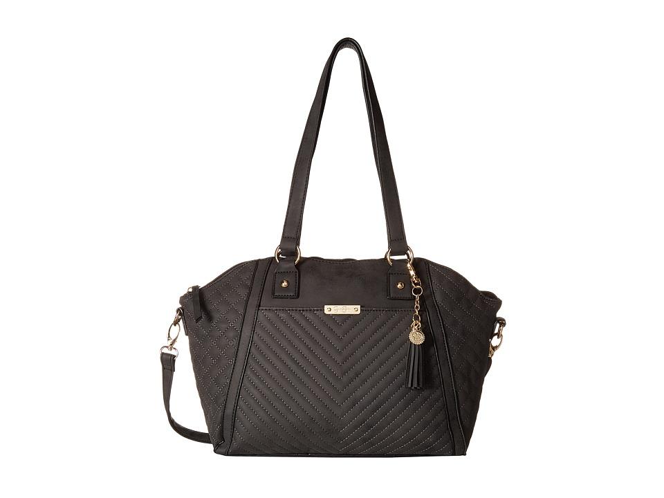 Jessica Simpson - Jina EW Satchel (Black) Satchel Handbags
