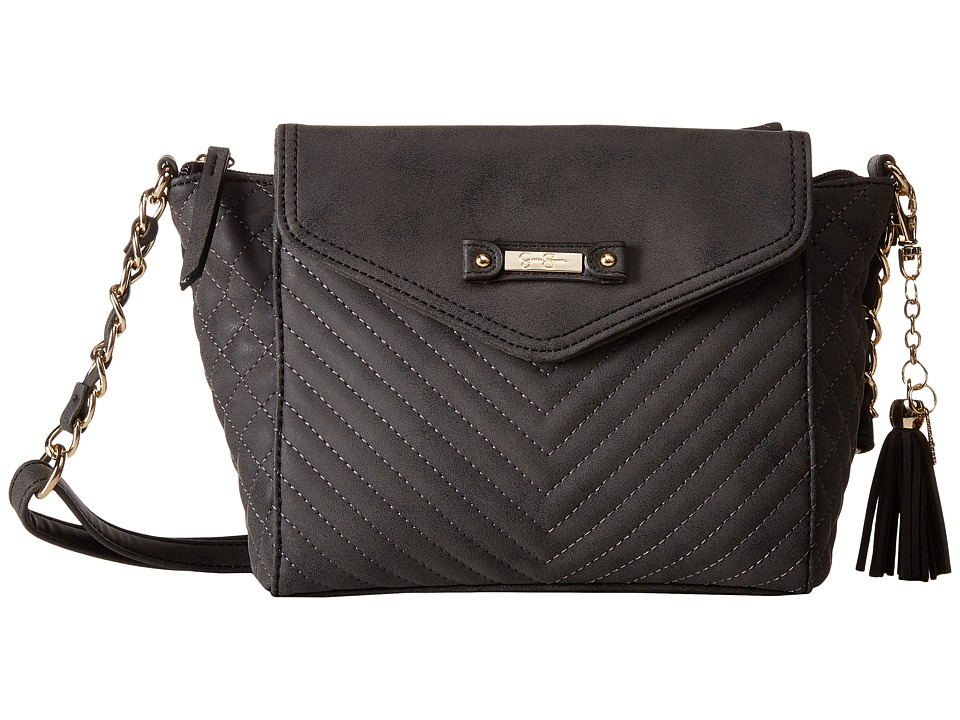 Jessica Simpson - Jina Crossbody (Black) Cross Body Handbags