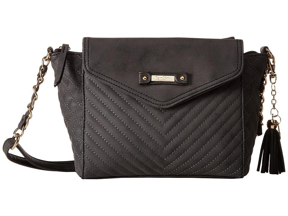 Jessica Simpson - Jina Crossbody (Black) Cross Body Handbags