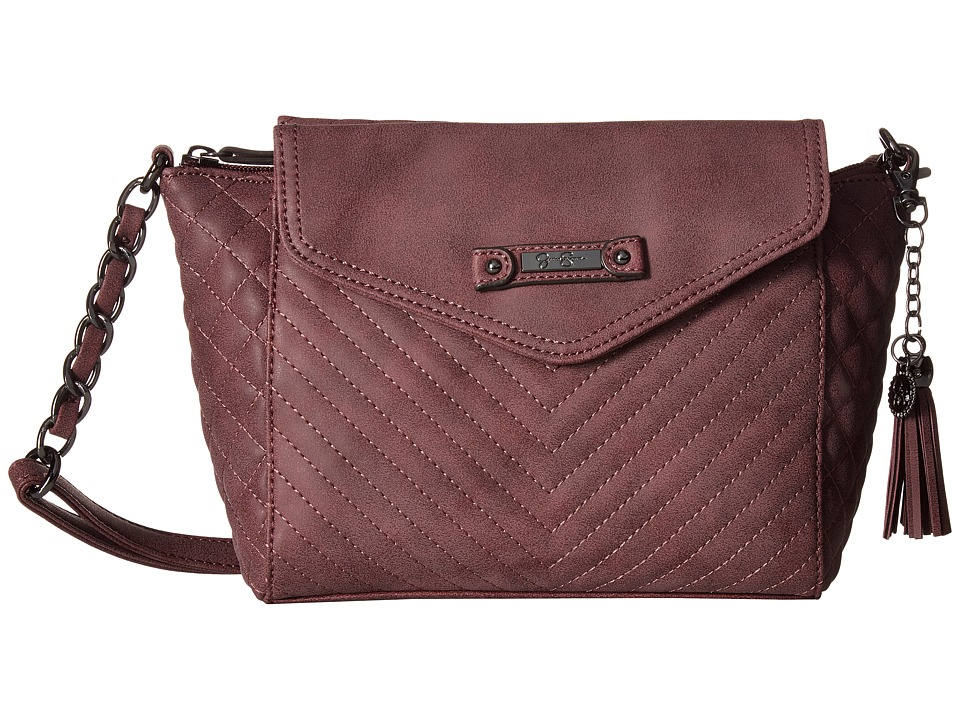 Jessica Simpson - Jina Crossbody (Burgundy) Cross Body Handbags
