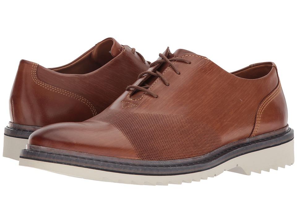 Rockport Jaxson Bal (Tan Leather) Men