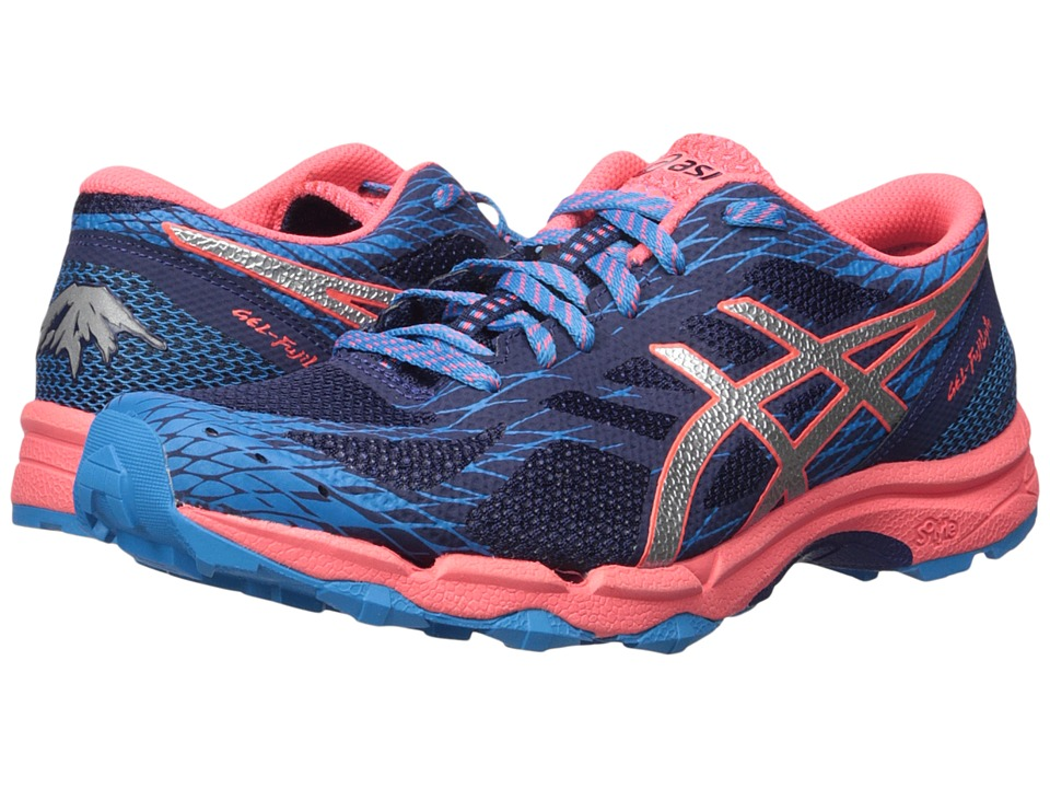 ASICS - GEL-FujiLytetm (Indigo Blue/Silver/Blue) Women's Running Shoes