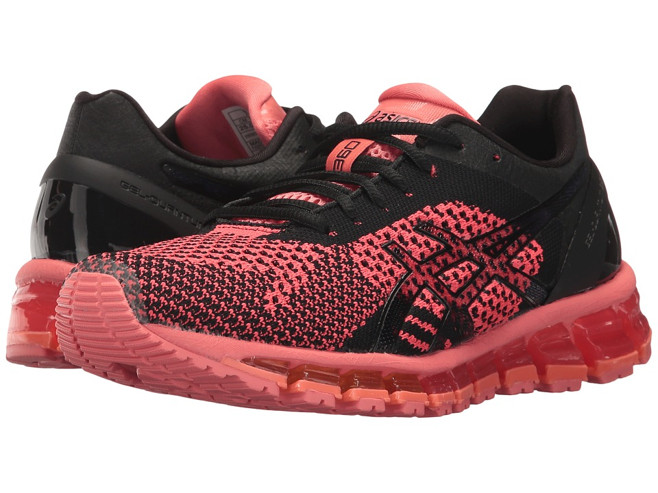 ASICS - Gel-Quantum 360 Knit (Peach Black/Onyx) Women's Running Shoes
