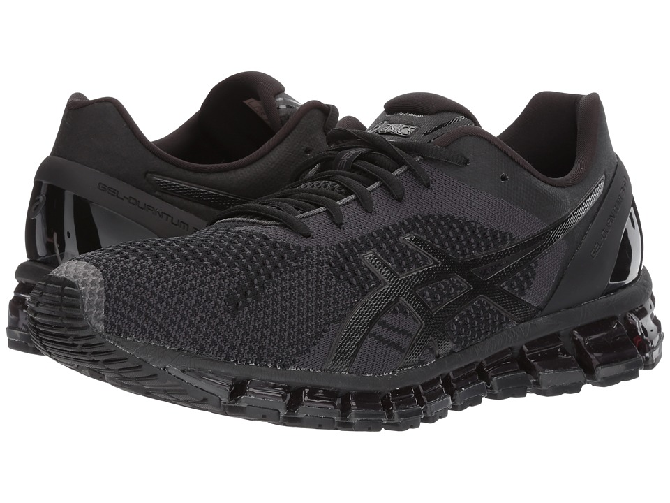 ASICS - Gel-Quantum 360 Knit (Black/Onyx/Dark Grey) Men's Running Shoes