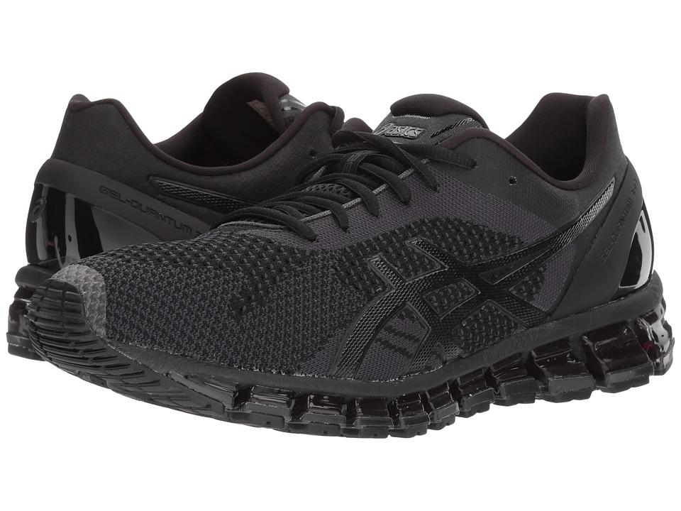 ASICS - Gel-Quantum 360 Knit (Black/Onyx/Dark Grey) Men's Running Shoes