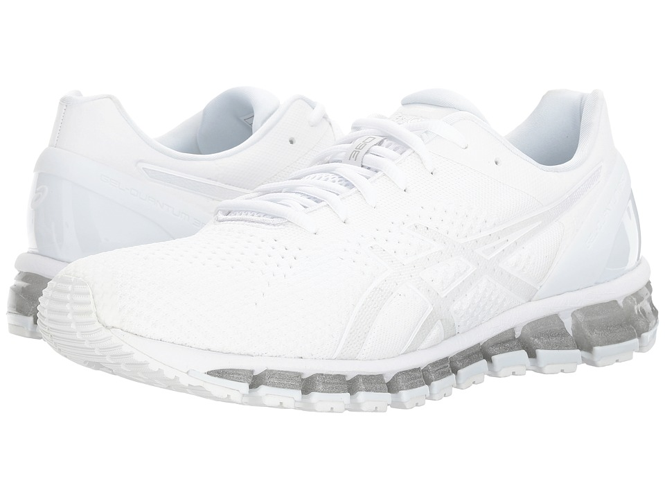ASICS - Gel-Quantum 360 Knit (White/Snow/Silver) Men's Running Shoes
