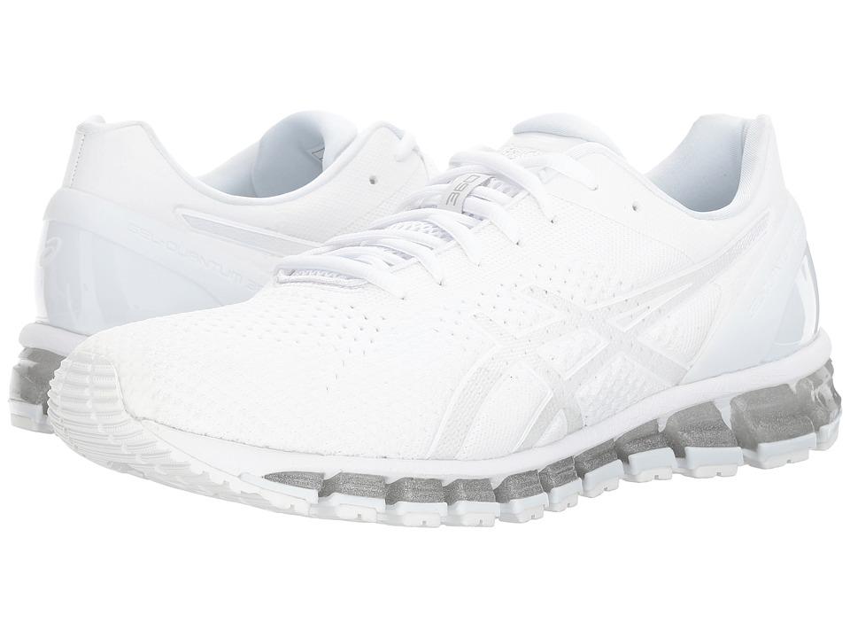ASICS - Gel-Quantum 360 Knit (White/Snow/Silver) Men's Running Shoes