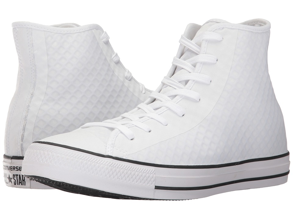 Converse CTAS Hi (White/White/Black) Men