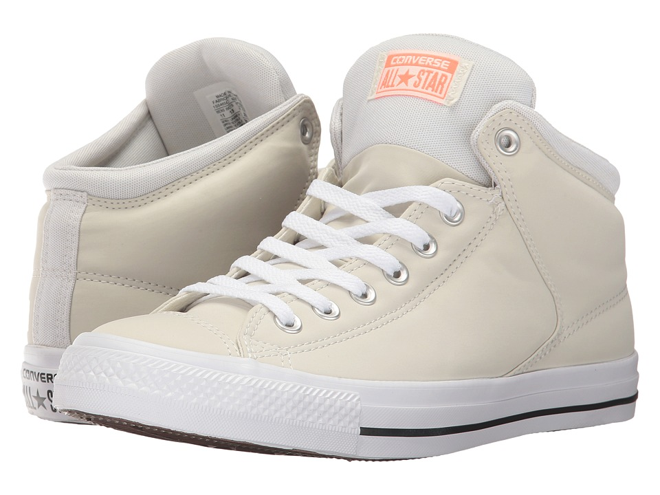 Converse - CTAS High Street Hi (Buff/Egret) Men's Lace up casual Shoes