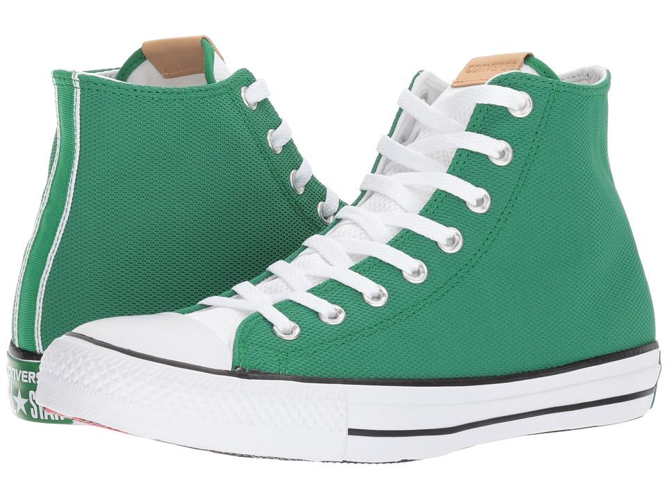 Converse - CTAS Hi (Green/White) Men's Lace up casual Shoes