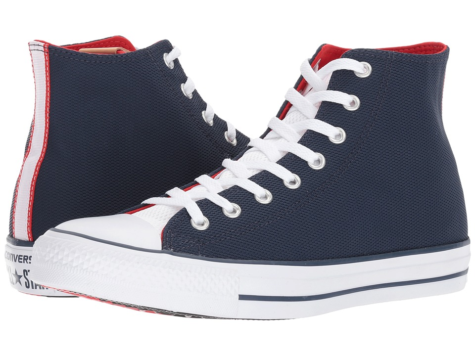 Converse - CTAS Hi (Athletic Navy/White/Casino) Men's Lace up casual Shoes