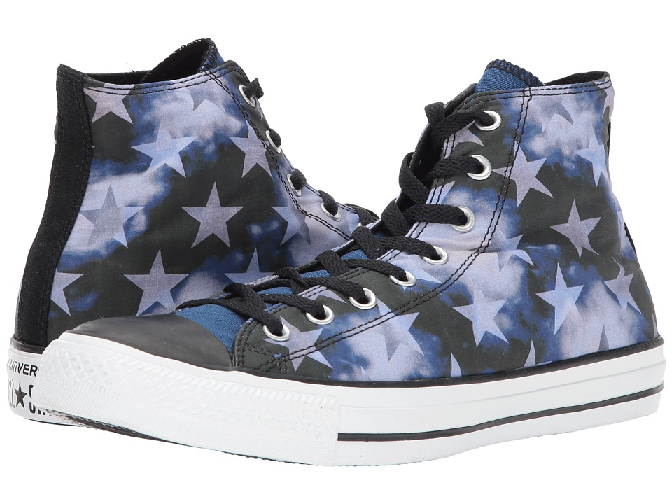 Converse - Chuck Taylor Hi (Black/Midnight Hour) Men's Lace up casual Shoes