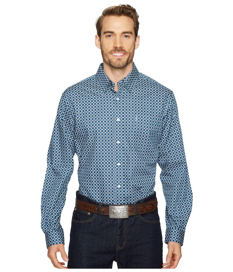 Cinch Modern Fit Basic Plain Weave (Blue) Men