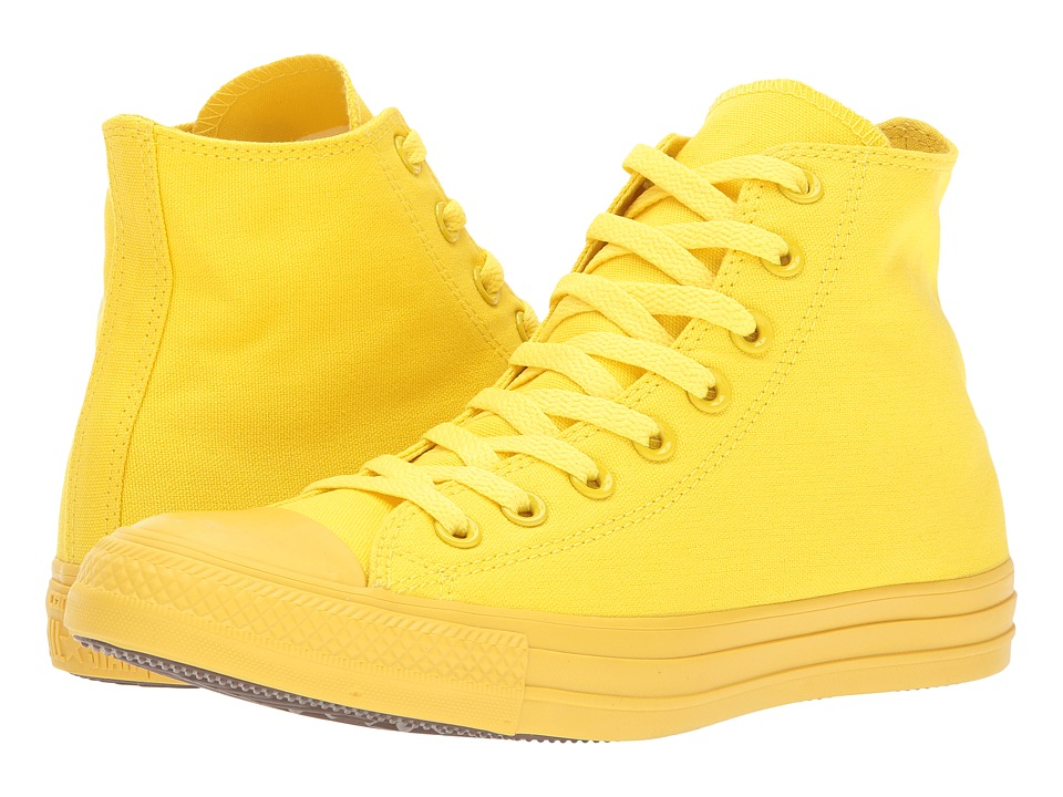 Converse - Chuck Taylor(r) All Star(r) Hi (Aurora Yellow/Yellow/Yellow) Women's Lace up casual Shoes