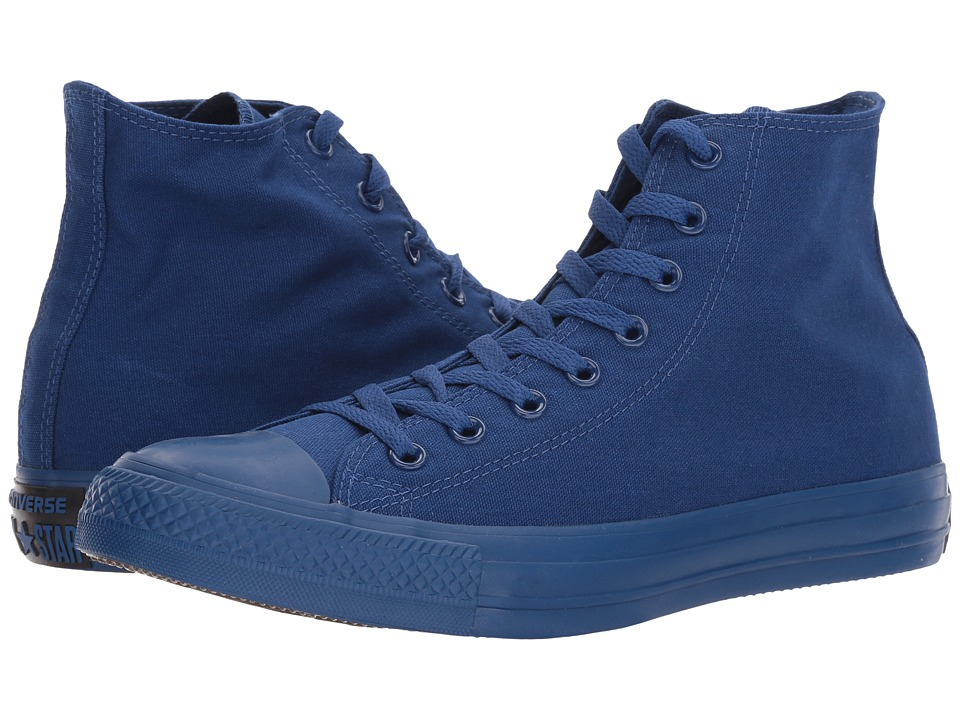 Converse - Chuck Taylor(r) All Star(r) Hi (Roadtrip Blue/Black/Blue) Women's Lace up casual Shoes