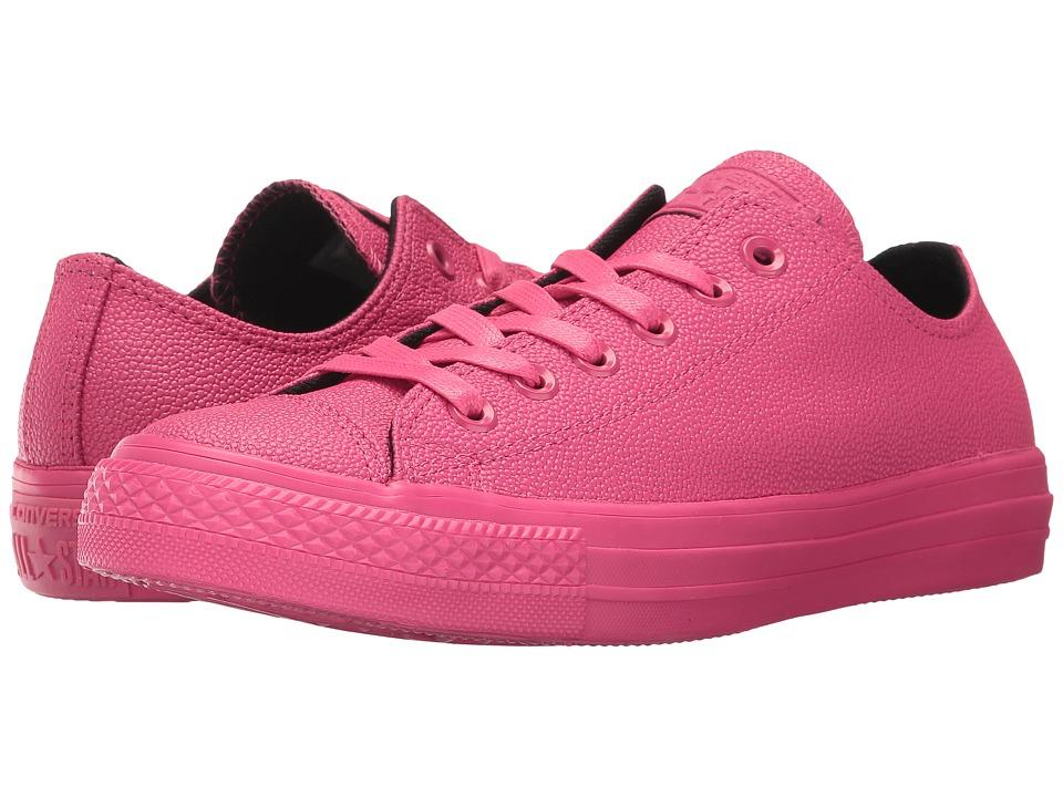 Converse - CTAS Ox (Vivid Pink/Black/Vivid Pink) Women's Lace up casual Shoes