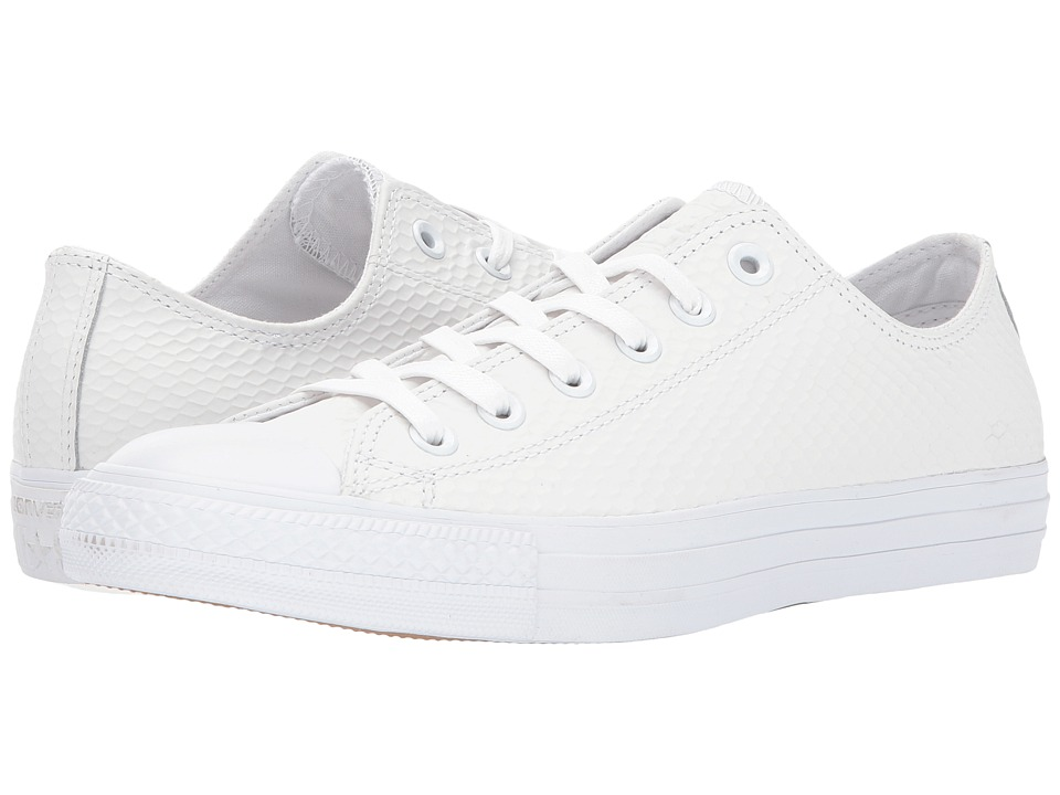 Converse - CTAS Ox (White/White/Gold) Lace up casual Shoes