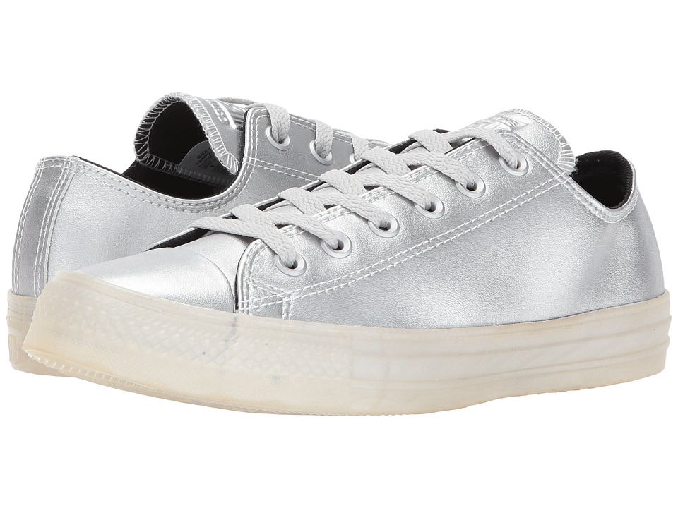 Converse - CTAS Ox (Pure Silver/Black/Pure Silver) Women's Lace up casual Shoes