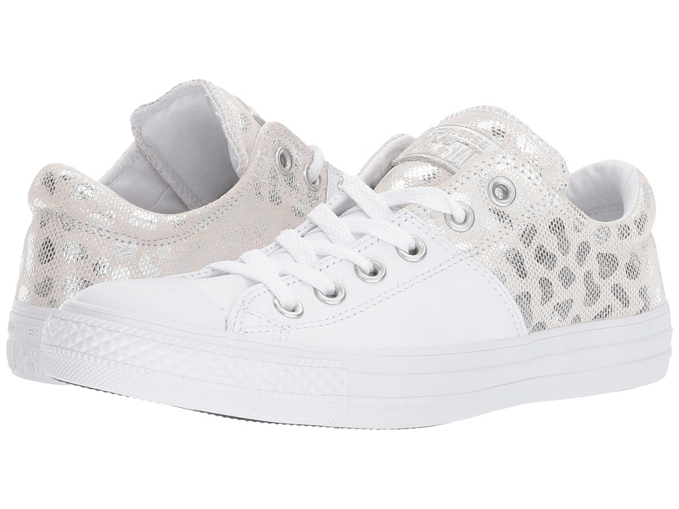 Converse - CTAS Madison Ox (White/Silver/White) Women's Lace up casual Shoes