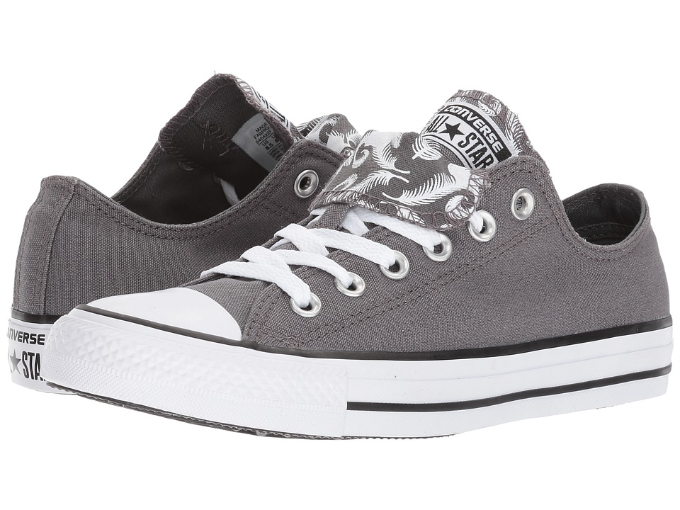 Converse - Chuck Taylor Double Tongue Ox (Wizard Gray) Women's Lace Up Cap Toe Shoes