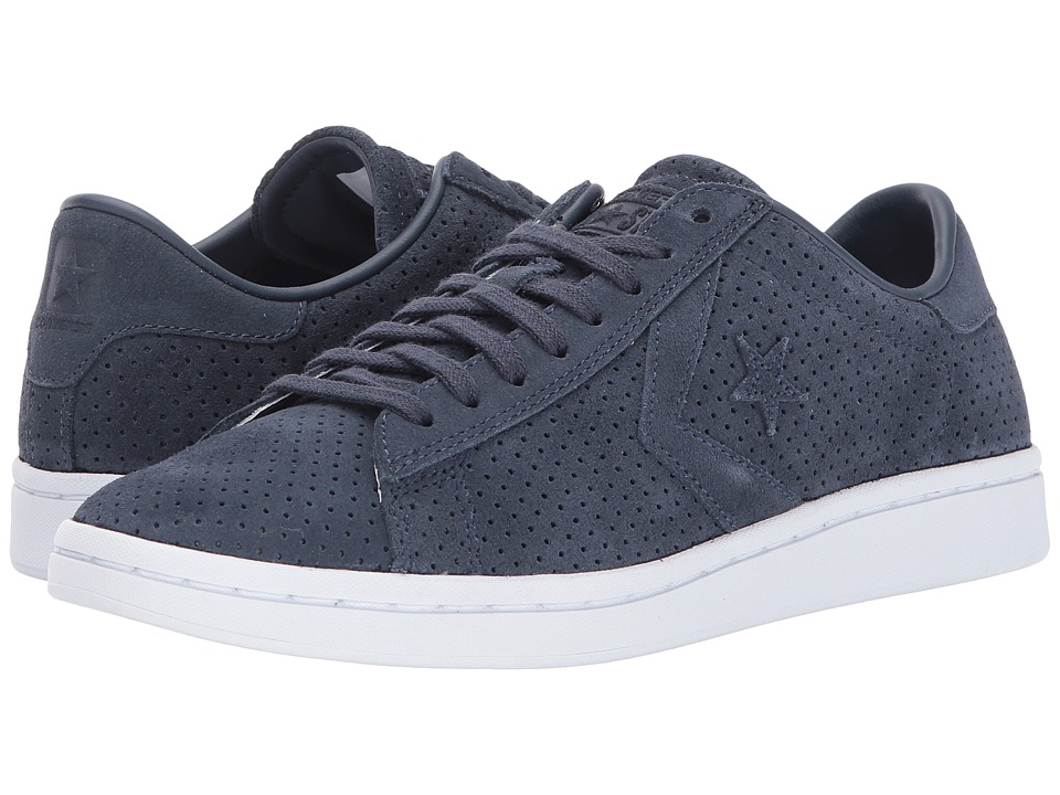Converse - Pro Leather LP Ox (Athletic Navy/Navy/White) Women's Lace up casual Shoes